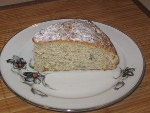 "Banana bread with vegetable oil. Check the recipe ""Banana bread -- the healthiest!"""