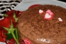 Chocolate cake from the heart