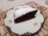 Chocolate cake full of moisture