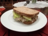 Sandwich with tuna salad