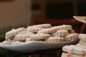 """Greek Christmas cookies #2: """"Kourabiedes"""""""