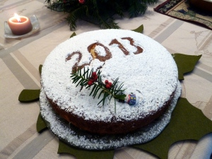 Vasilopita 2013, the New Year's Eve cake for good luck