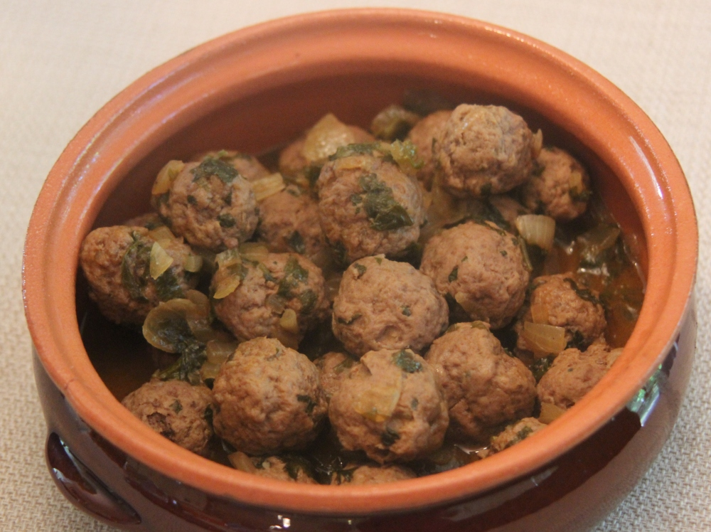 Meatballs with an oriental touch (1/2)