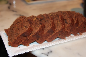 chocolate bread with zucchini