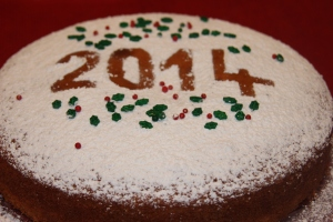 New Year's Cake: Vasilopita 2014