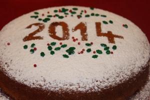 New Year's Cake: Vasilopita 2014