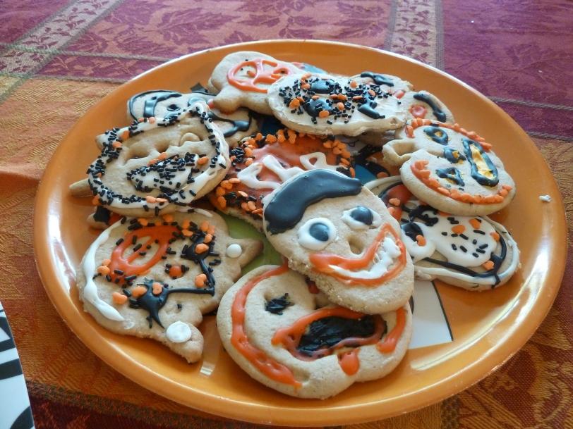 Halloween cookies 2014