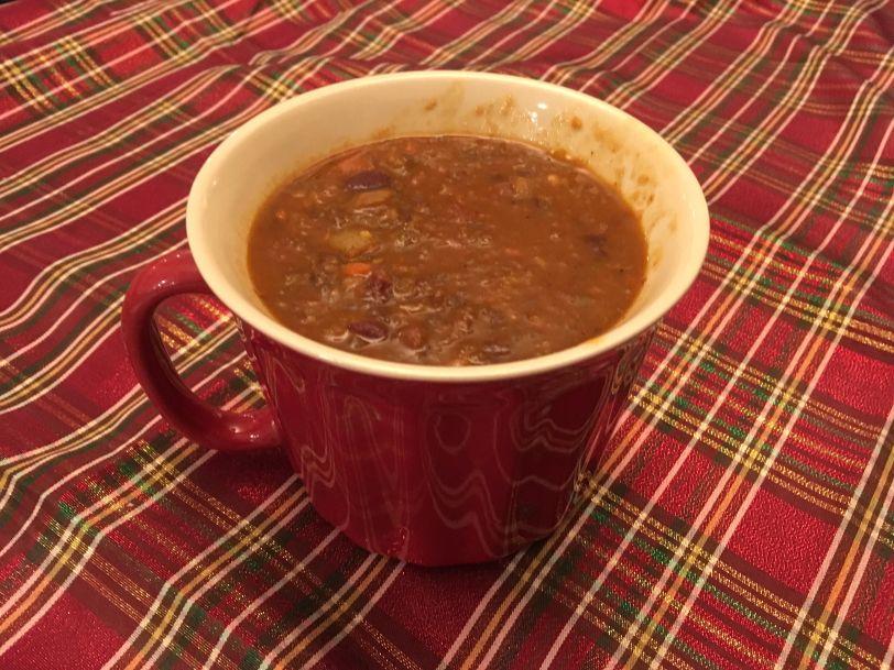 veggie chili soup